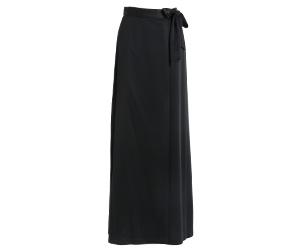 巻きロングスカート 黒/3120T